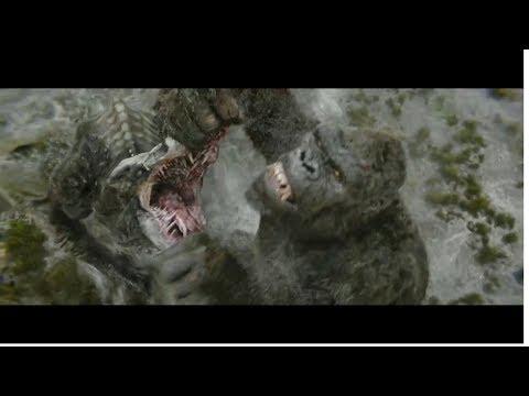 Kong vs Skull Crawler - Kong Skull Island 2017