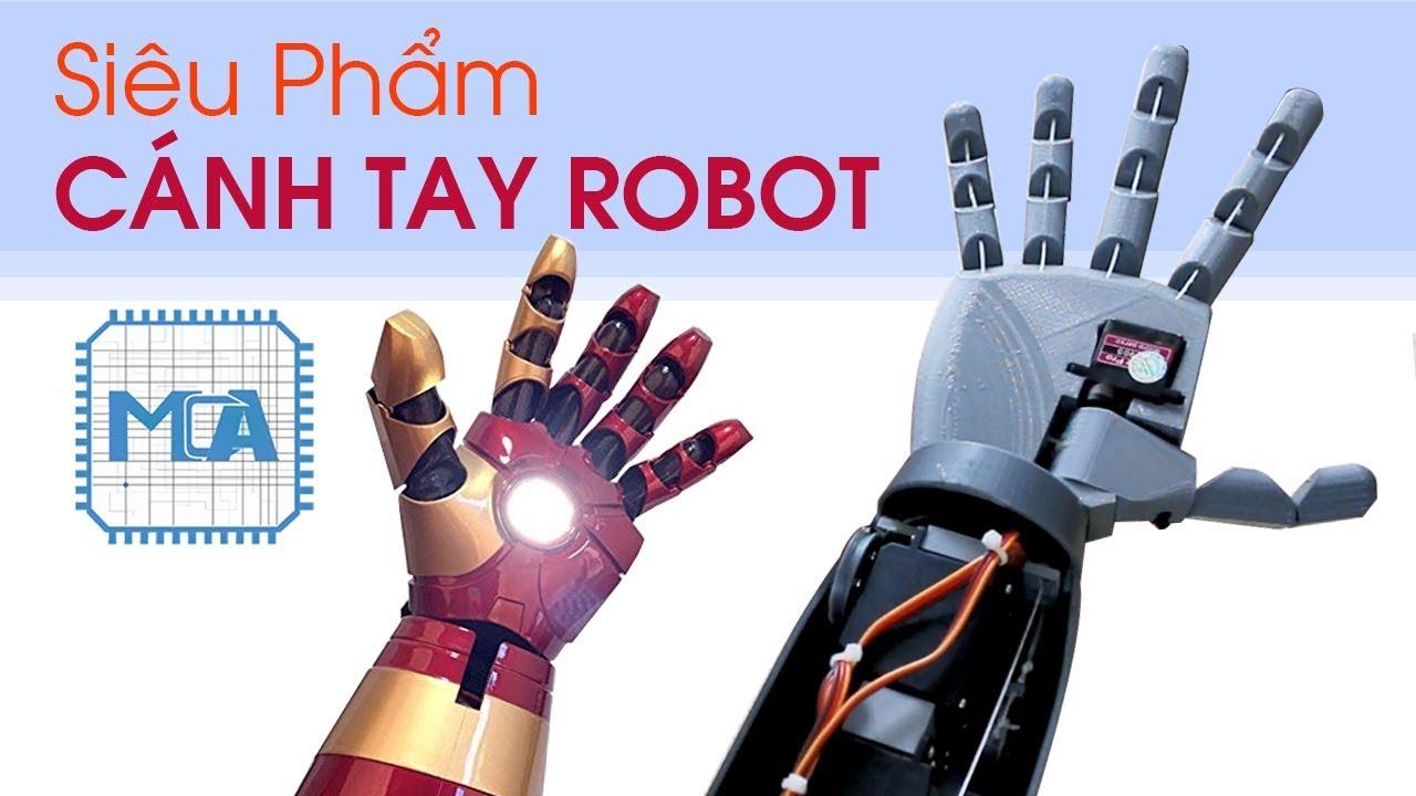 Cánh Tay Robot Điều Khiển Bằng Flex Sensor Cực Ngầu – Hand Robotics | BLK Review