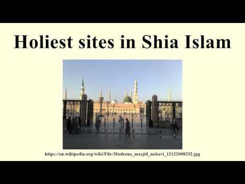 Holiest sites in Shia Islam