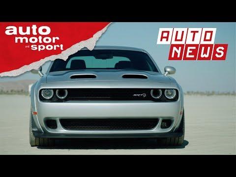 Dodge Challenger SRT Hellcat: Redeye is watching you! - NEWS I auto motor und sport