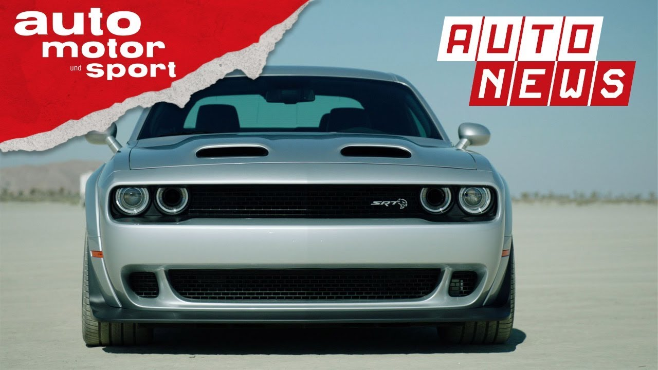 Dodge Challenger SRT Hellcat: Redeye is watching you! - NEWS I auto ...