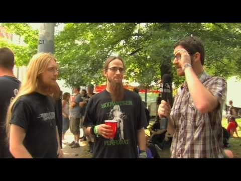 THE RED CHORD Bassist Goes Undercover at Maryland Death Fest on Metal Injection