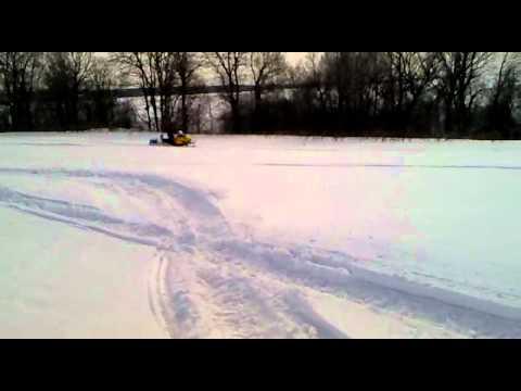 Снегоход Ski-Doo Tundra LT550.mp4