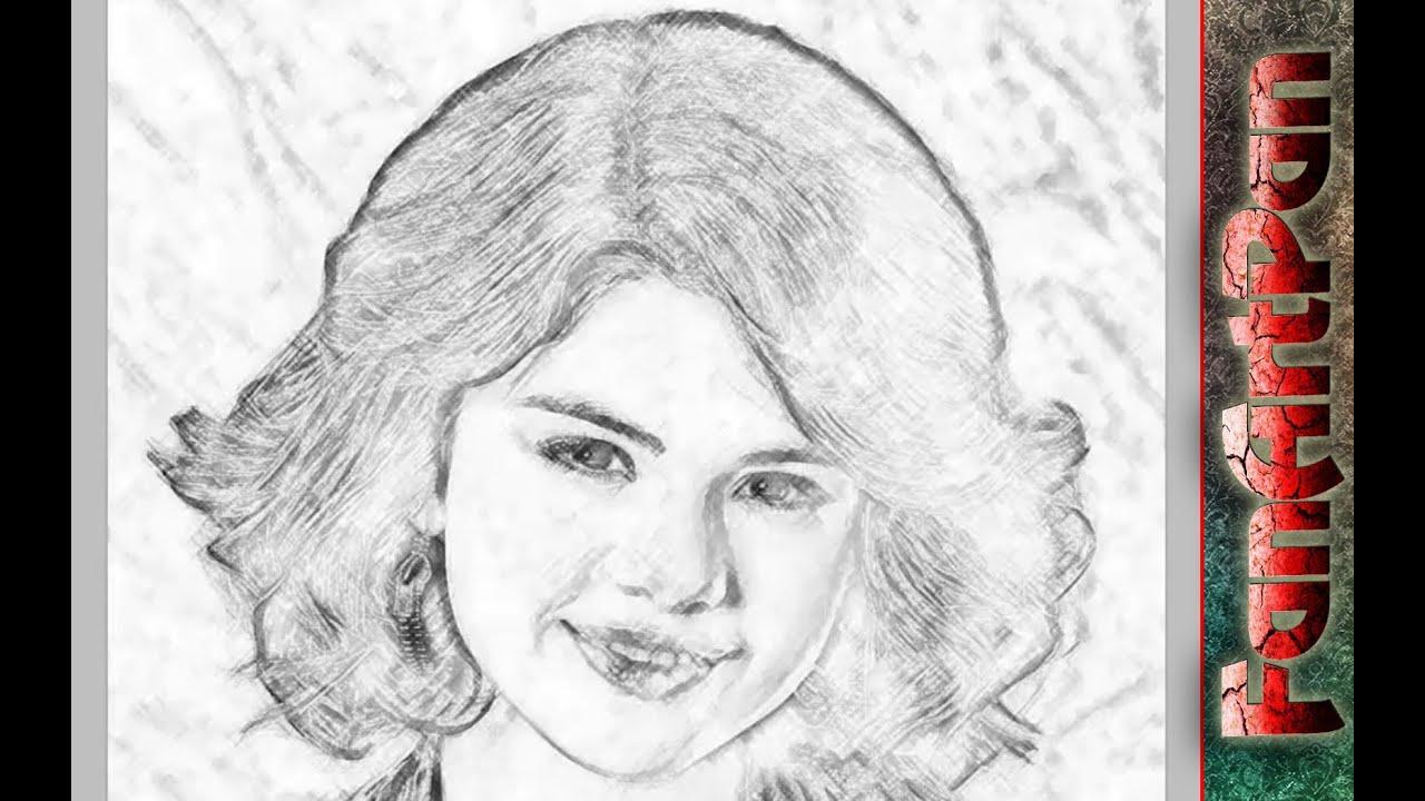 сделать онлайн из фото рисунок карандашом
