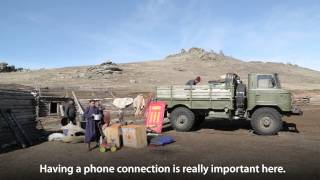 How Telecommunications Changed the Lives of Herders in Mongolia