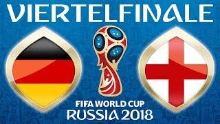 Fussball WM 2018 · VIERTELFINALE · Deutschland - England · 07.07.2018 · Lets Play Fifa 18 WM PS4 #59