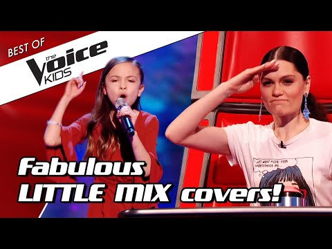 TOP 10 | AMAZING 'LITTLE MIX' Covers In The Voice Kids