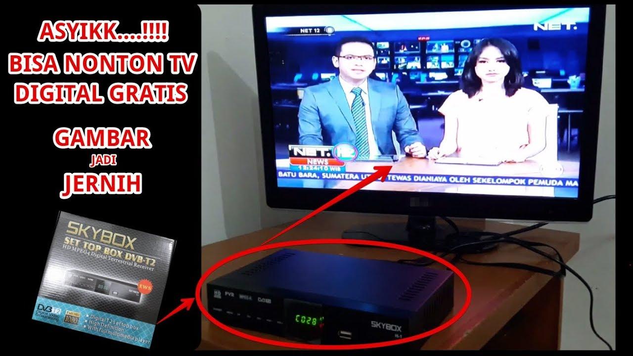 Asyik Tv Jadi Jerhih Panduan Instalasi Skybox Set Top Box Dvb T2