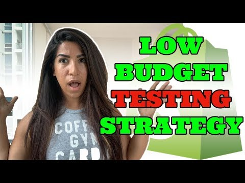 Best Low Budget Facebook Ad Strategy ( Shopify Dropshipping 2019) thumbnail