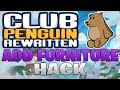 Add Any Furniture Hack - Club Penguin Rewritten Exploiting (CPR Hacks WPE Pro)