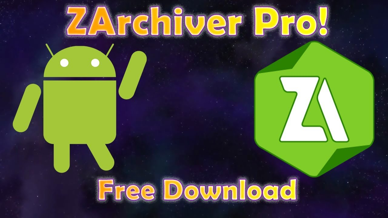 Download ZArchiver Pro APK | Free Download for Android