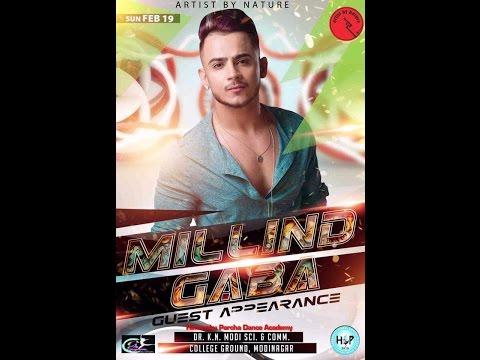 Millind Gaba Live Performance | Jaipur | 2017