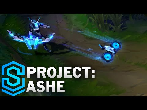 PROJECT: Ashe Skin Spotlight - League of Legends