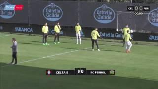 Celta Vigo B vs Ferrol full match
