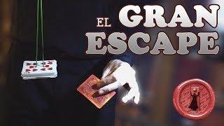 Facil truco de carta - El Gran Escape / LO TIENES QUE VER
