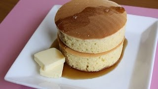 その厚さ4cm! 分厚いパンケーキを作って、かぶりついちゃおう!