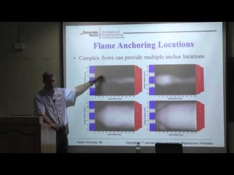 NCCRD@IITM-Flame Stretch, Edge Flames, and Flame Stabilization Concepts by Prof Tim Lieuwen