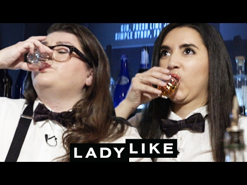 Ladylike Tries Bartending For The First Time