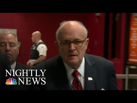 Guiliani Worked With Prosecutor On Both Personal Business, Biden Investigation | NBC Nightly News