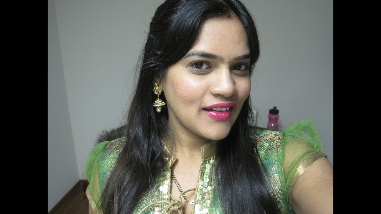 Get Ready With Me Indiandesi Party Wear Look Using Gold -8522