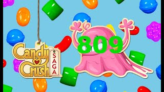Candy Crush Saga: Level 809 Super Hard Level
