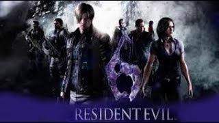 Resident Evil 6 coop с максим горовенко стрим