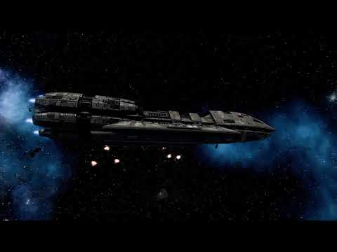 Outnumbered Pegasus vs 5 Basestars | Battlestar Galactica Deadlock |