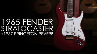 """""""Pick of the Day"""" - 1965 Fender Strat CAR and 1967 Princeton Reverb"""