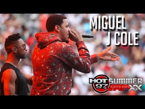 Miguel & J.Cole Perform