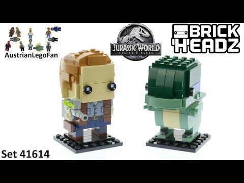 Lego Jurassic World Brickheadz 41614 Owen & Blue - Lego Speed Build Review