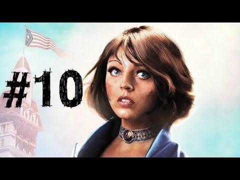 Bioshock Infinite Gameplay Walkthrough Part 10 - Tears - Chapter 10