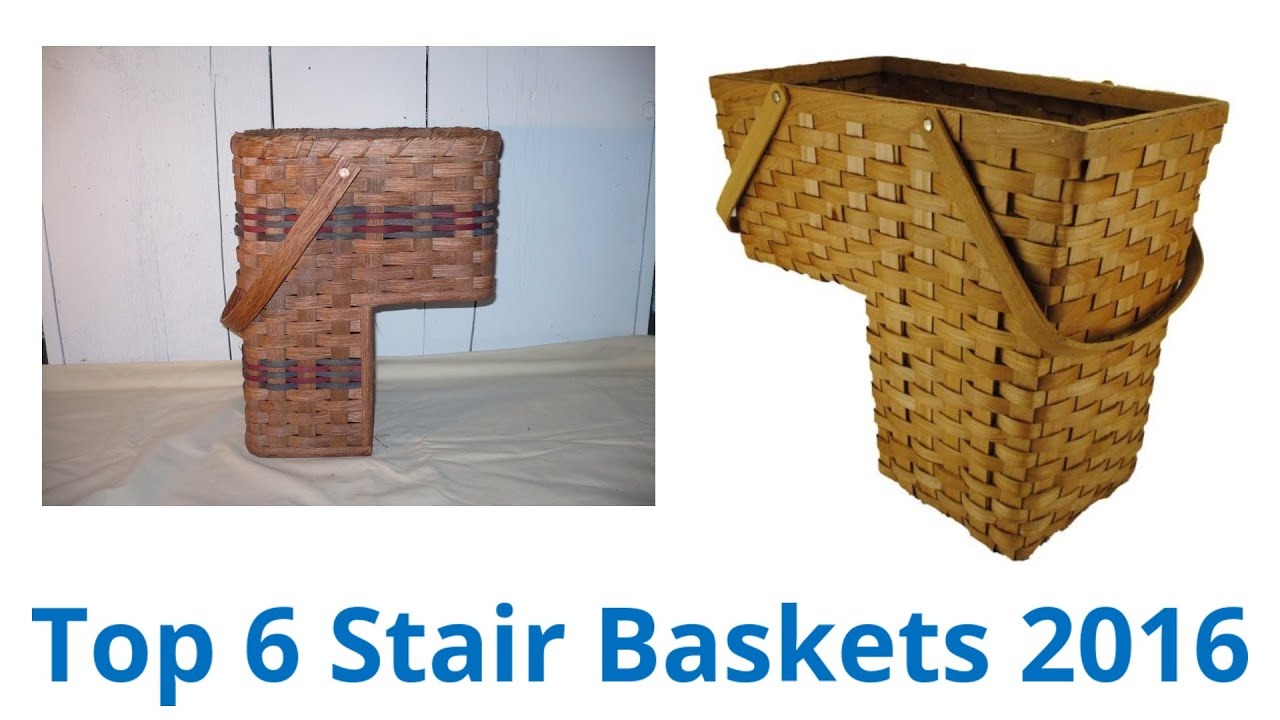 6 Best Stair Baskets 2016