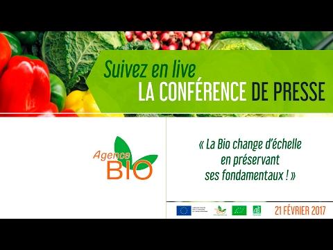 Conférence de Presse Agence Bio
