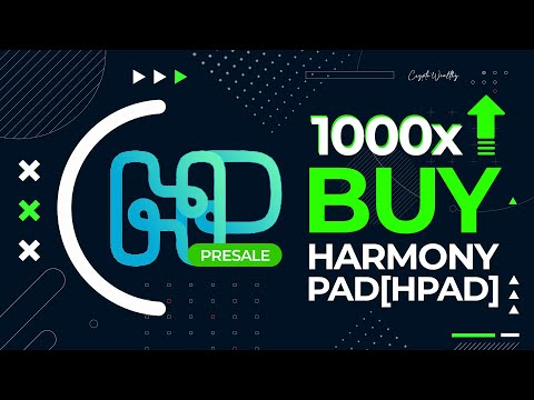 PRESALE!⏰ HarmonyPad Token [HPAD] | Launching Soon | 100x Altcoin 2021
