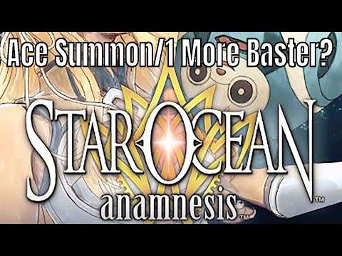 Star Ocean Anamnesis: Ace Ticket Summon/ Barrier Blaster