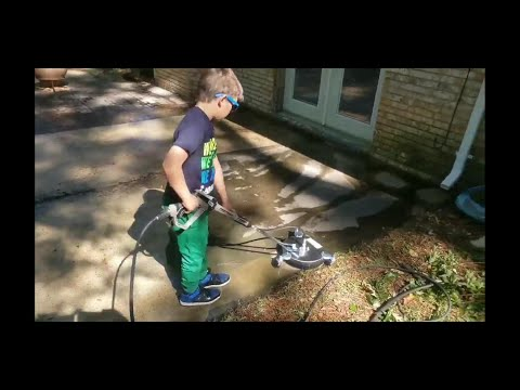 Power Washing With Turbo Nozzle And Surface Cleaner!!! $17.99 & $79.99 !!!!!