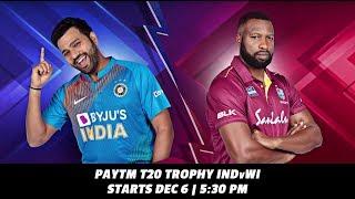 Paytm T20 Trophy IND v WI: Bros Become Foes!