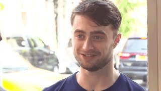Daniel Radcliffe Proves His Love for the NFL | MTV After Hours