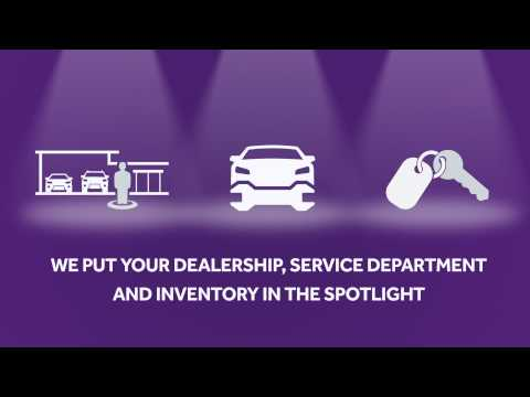 Showcase your dealership, service department and inventory