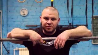 Жим штанги из-за головы широким хватом. Кузьмин Вячеслав. Система SSS.