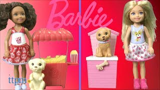Chelsea Dolls with Pets and Accessories from Mattel