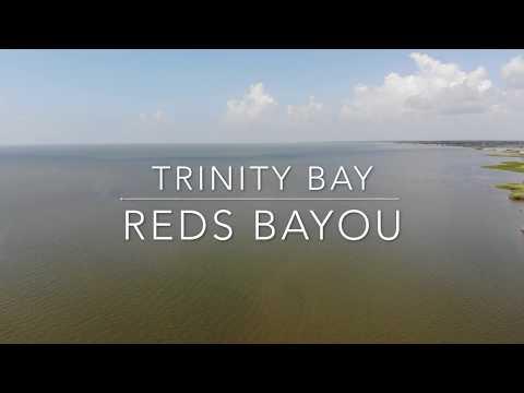 Trinity Bay Texas - Reds Bayou 4K