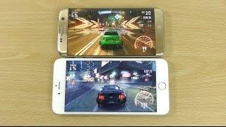 Samsung Galaxy S7 Edge vs iPhone 6S Plus - Gaming Comparison!