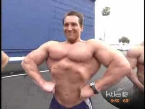 Santa Monica Personal Trainer Jason on KTLA Channnel 5 - Charity Promo