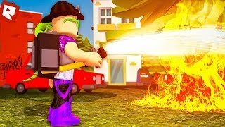 FIRE SIMULATOR! | Roblox