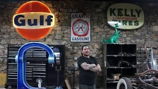 IronTrap Garage Vintage Advertising Tour