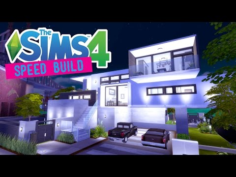 The Sims 4 -Speed Build- Waterfront Wayside - No CC -