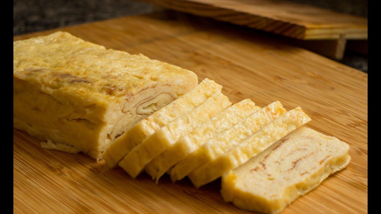 Tamagoyaki Japanese Omelette Recipe - YouTube