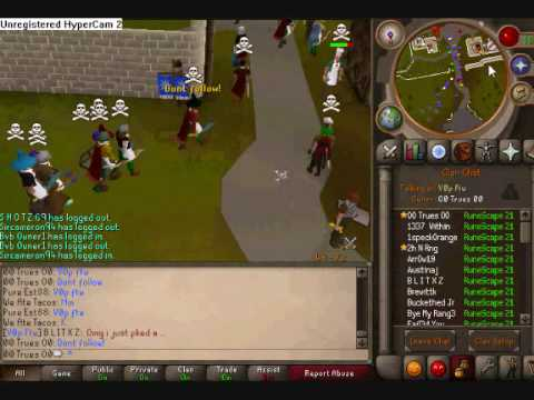 how to leave clan runescape