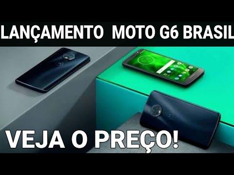 657bff4c0 Moto G6 tem lançamento no Brasil Motorola também revela G6 Play e G6 Plus
